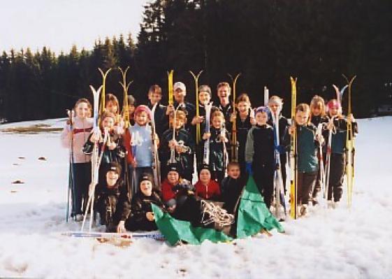 Die Trainingsgruppe im März 2004